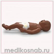 Манекен по уходу за новорожденным, темная кожа