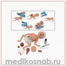 Тренажер недоношенного новорожденного Micro-Preemie, светлая кожа Nasco