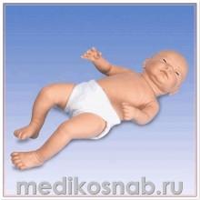 Тренажер по уходу за грудным ребенком «Ready-or-Not Tot», мужской, светлая кожа
