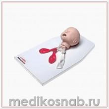 Тренажер головы ребенка для практики интубации