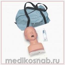 Тренажер головы младенца для интубации повышенного уровня Nasco