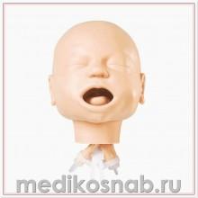 Тренажер для действий на дыхательных путях младенца, с сумкой Nasco