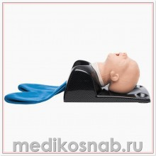 Тренажер головы ребенка для отработки навыков восстановления проходимости дыхательных путей с легкими и желудком