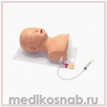 Тренажер для действий на дыхательных путях новорожденного AirSim Baby