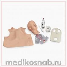 Тренажер для действий на дыхательных путях младенца, на подставке