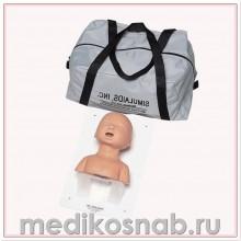 Тренажер для действий на дыхательных путях младенца, только голова