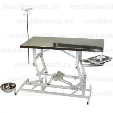 Стол ветеринарный СВУ-1 с электроприводом, универсальный
