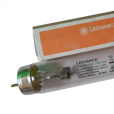 Бактерицидная лампа TIBERA UVC T8 15W G13 LEDVANCE