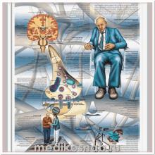 Плакат медицинский Болезнь Паркинсона