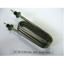 ТЭН 160.02.000 (3кВт, 220В, н/сталь, вода)