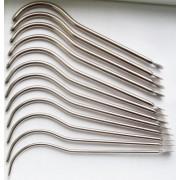 Бужи уретральные, изогнутые набор (по шкале Шарьера) с № 16-27, 12 шт