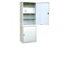 Шкаф медицинский одностворчатый с сейфом