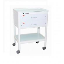Столик стоматологический с УФ-облучателем 21422 (2 ящика для 16 наборов)