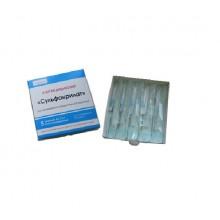 Клей медицинский «Сульфакрилат» упаковка 5 шприцев/туб по 1 мл.
