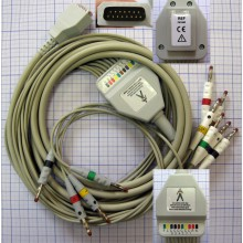 ЭКГ кабель пациента (отведения) FIAB F6746R